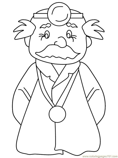 doctor coloring page  doctors coloring pages