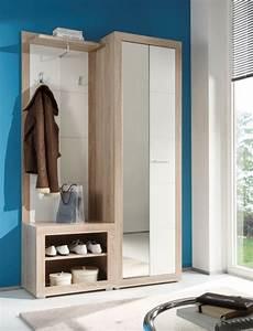 Garderobe 80 Cm Breit : canio garderobe sonoma wei glanz ~ Bigdaddyawards.com Haus und Dekorationen