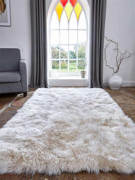 large champagne sheepskin rug large champagne rug