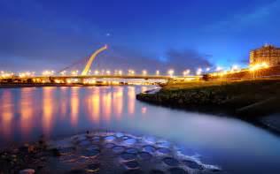 Beautiful Bridges Wallpaper Free  Big City Lights