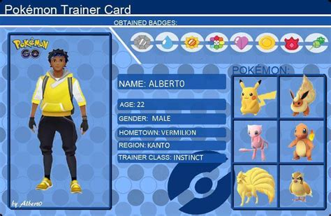 pokemon  trainer card albert pokemon  amino