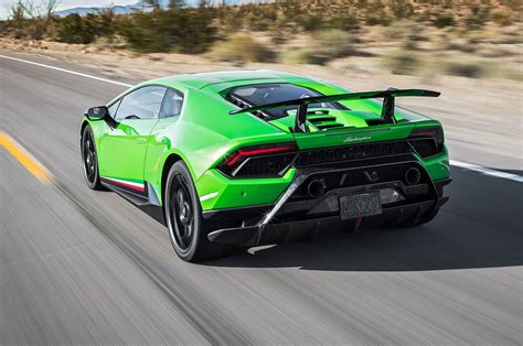 lamborghini huracan performante  test review