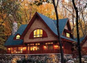 Decorative Craftsman Lodge House Plans by Cottage Style Decorating And Design Cozy And