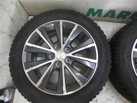 Gebrauchte Peugeot 308 Felgen Set Winterreifen