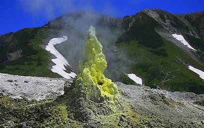 Mountains Japan Nature Wallpapers Snow Desktop Landscape