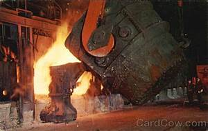 city metal works open hearth furnace gary in