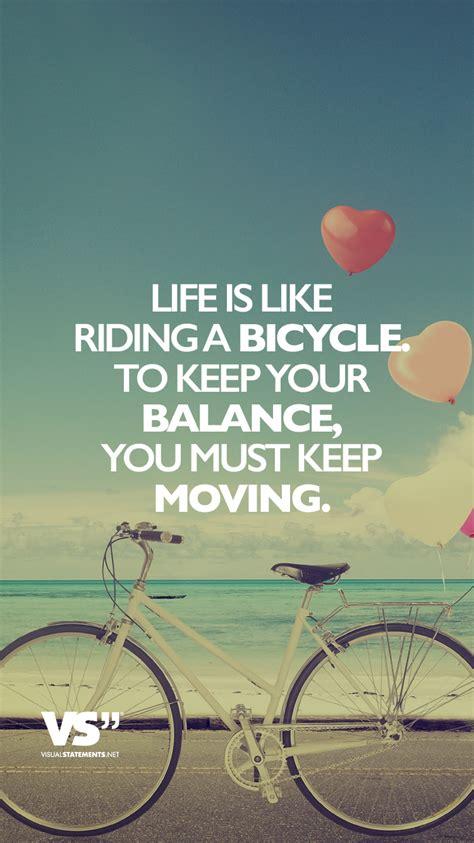 life   riding  bicycle    balance