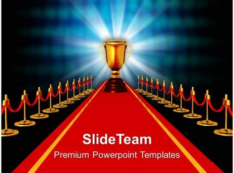 award  red carpet competiton powerpoint templates