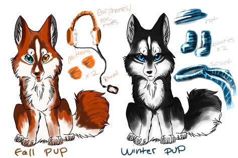 Ee  Cheap Ee   Seasonal Husky Pups Adopts Ended Bylyalpaca On Deviantart