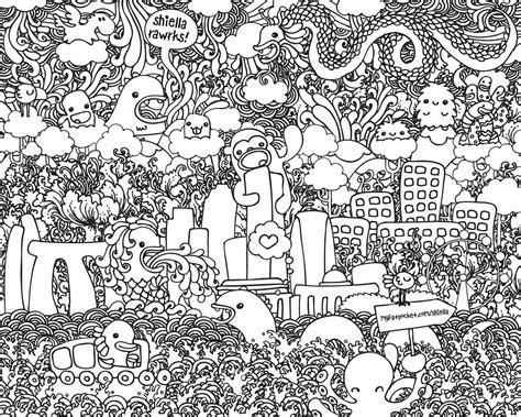 membuat doodle art bagi pemula fariskanurzamanmulyana