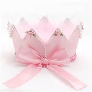 Baby Girls Birthday Crown