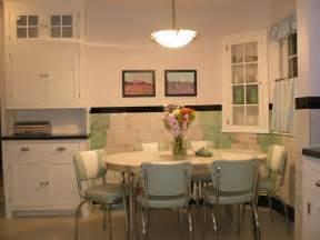 retro kitchen furniture retro kitchen table chairs white vintage look space saving