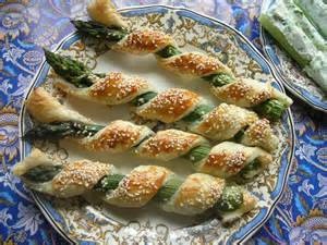 Asparagus Finger Food Appetizers