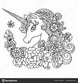 Licorne Coloriage Imprimer Ciel Arc Colorir Unicornio Coloring Mandala Dessin Desenhos Eenhoorn Coloriages Enfant Colorier Unicornios Desenho Unicorn Boek Fabelachtig sketch template