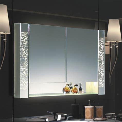 led mirror cabinet   adjustable shelves single door
