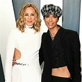 Actress Maria Bello and her French chef girlfriend ...