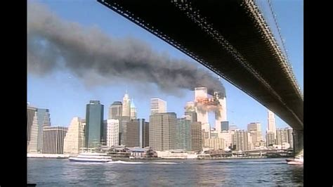 plane hit   brooklyn bridge youtube