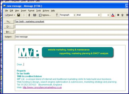 create email templates with word creating email templates look more professional in your