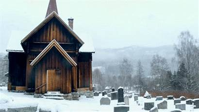 Church Norway Stave Cinemagraphs