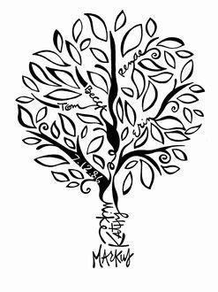 Markus Family Tree   Tree tattoo designs, Family tree designs, Family tree drawing