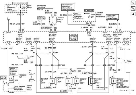 wiring diagram free 2003 chevy silverado radio wiring
