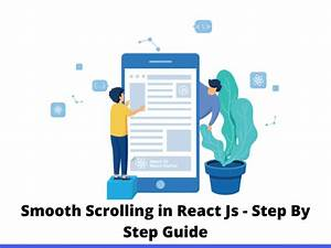 Smooth Scrolling In React Js
