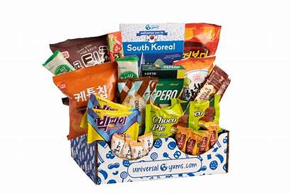 Universal Yums Snacks Yum Country Monthly Different