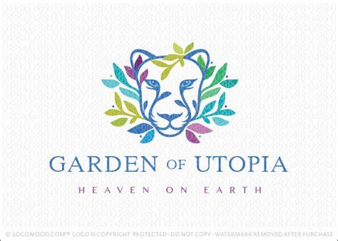 Readymade Logos For Sale Garden Utopia