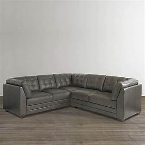 Affinity small l shaped sectional by bassett sylvan for Small sectional sofa bassett