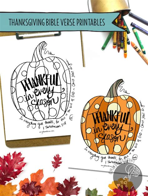 You can add any quote to any background. Thanksgiving Art Print & Coloring Page Printables - Marydean Draws