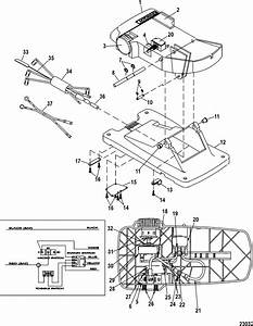 Foot Pedal Assembly M899722t For Motorguide Motorguide