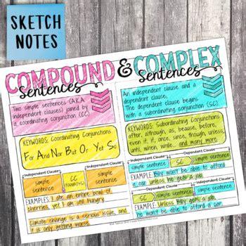 grade grammar unit simple compound complex