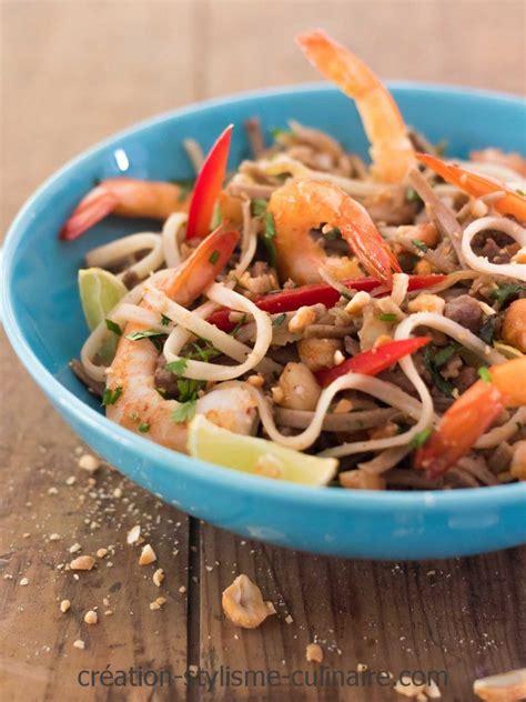 la cuisine sans gluten pâtes sans gluten de riz façon pad thaï