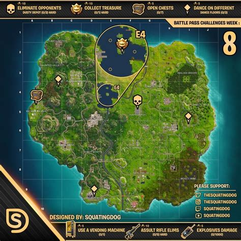 fortnite dance floor locations search   boats