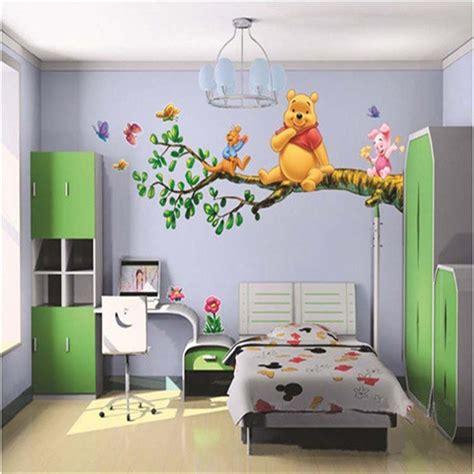 stickers chambre de bébé winnie pooh vinyl wall stickers for