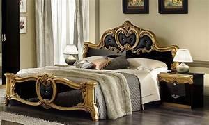 Moderne Barock Möbel : schlafzimmer schwarz gold inspiration design raum und m bel f r ihre wohnkultur ~ Sanjose-hotels-ca.com Haus und Dekorationen