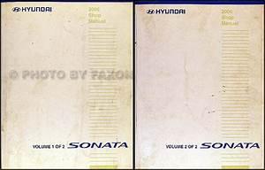 2006 Hyundai Sonata Repair Shop Manual Original 2 Volume Set