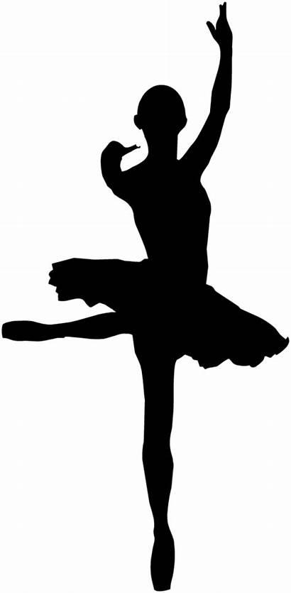 Ballerina Silhouette Danza Mod Classica Sagoma