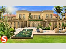 The Sims 4 Speed Build The Greek Villa YouTube