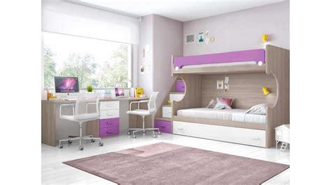 lit superpose bureau lit superposé enfant avec bureau et lit gigogne glicerio