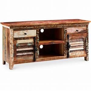 Meuble Tv Vintage : meuble tv de design vintage mady ~ Teatrodelosmanantiales.com Idées de Décoration