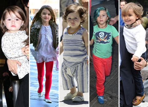 Stylish Celebrity Kids 2012  Popsugar Moms