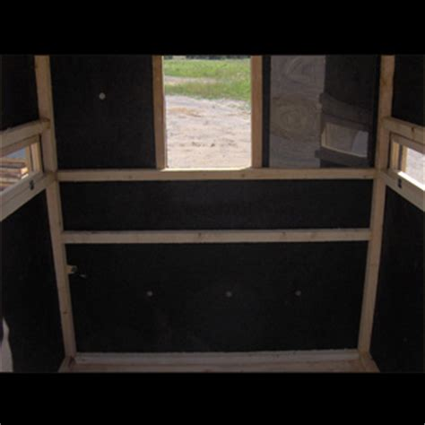 bow rifle hunting box blinds productive cedar products