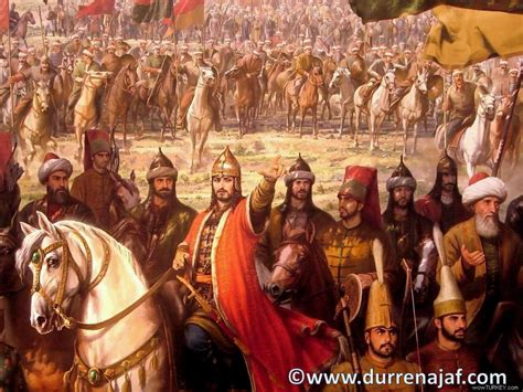 Ottoman Turks At The Siege Of Constantinople