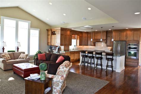 Open Kitchen & Family Room