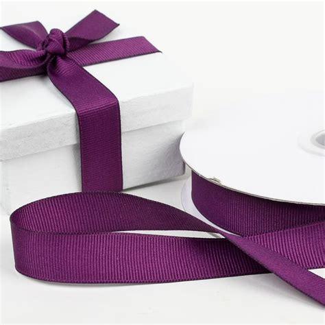 eggplant grosgrain ribbon ribbon  trims craft supplies
