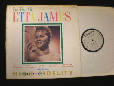 The Best Of Etta Popsike Early Etta Lp Crown 5234 The Best Of