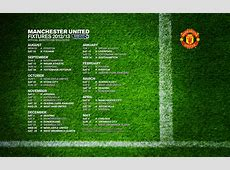 Fixtures Manchester United Wallpaper