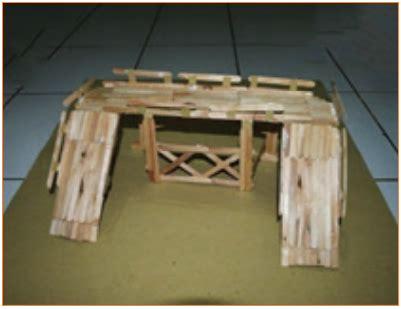 langkah langkah pembuatan miniatur jembatan langkah