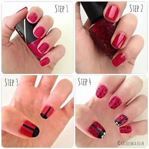 Easy Nail Tutorials for Everyday - Pretty Designs